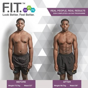 Ron Fit 1 - Fit 2 - before and after review