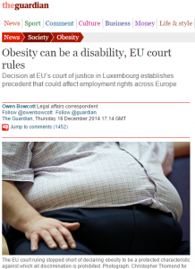 obesity legal article